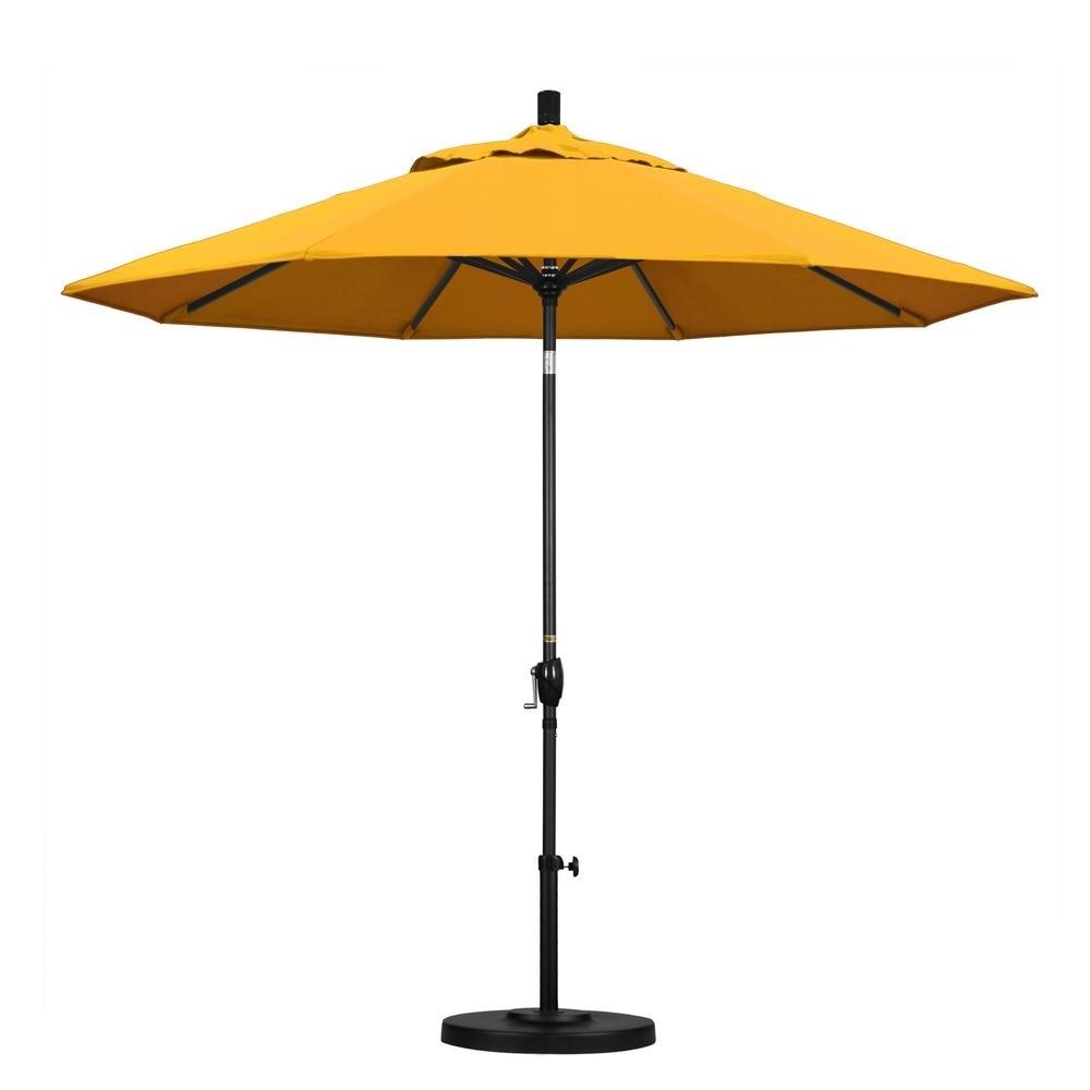 Yellow Sunbrella Patio Umbrellas With Preferred California Umbrella 9 Ft (View 5 of 20)