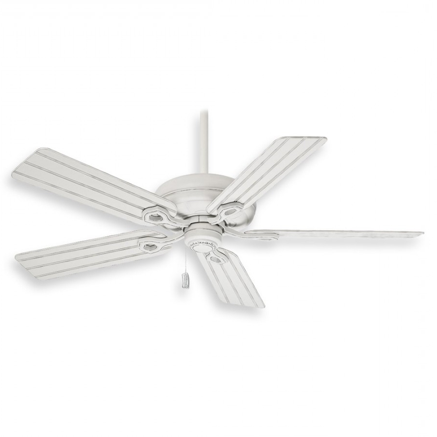 2018 Casablanca Outdoor Ceiling Fans With Lights Intended For Casablanca Charthouse Ceiling Fan – 55012 Cottage White (Gallery 17 of 20)