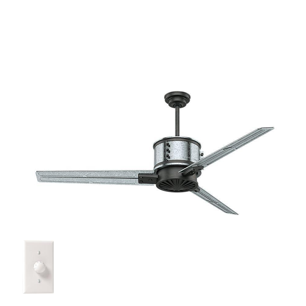 2018 Ceiling Fans At The Home Depot Regarding Outdoor Ceiling Fan No Electricity (Gallery 20 of 20)