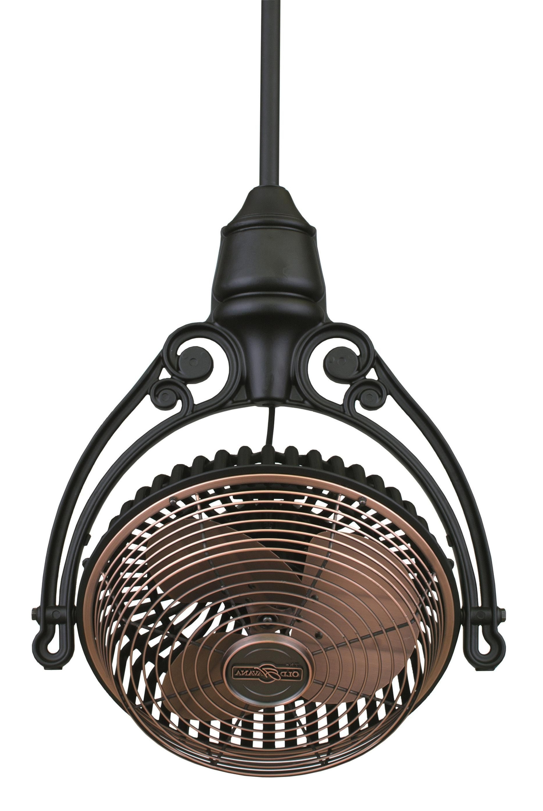 2018 Fanimation Old Havana Ceiling Mount Ceiling Fan Fph210ac Fph81bl In Pertaining To Outdoor Caged Ceiling Fans With Light (View 14 of 20)