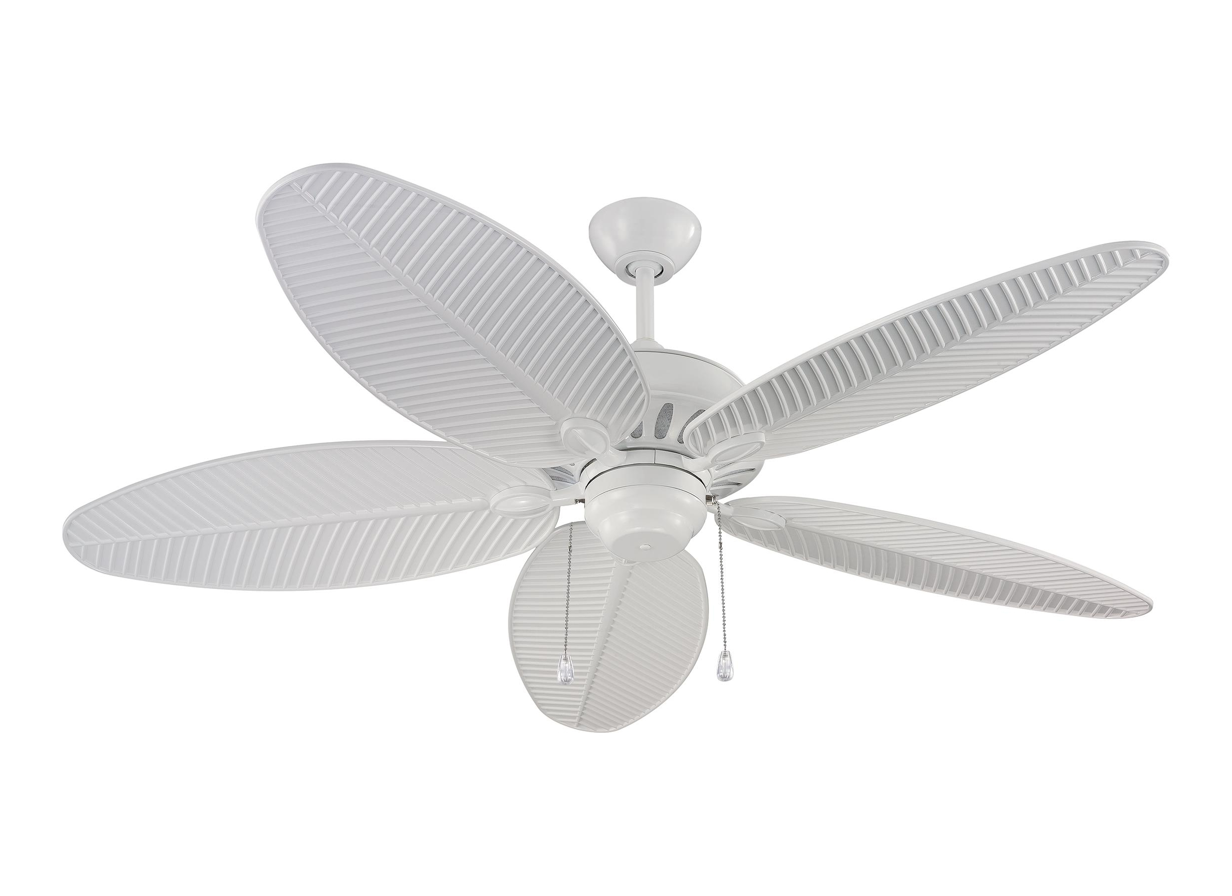"2018 Outdoor Ceiling Fans With Lights Damp Rated For 5Cu52Wh,52"" Cruise Outdoor Fan  White (Wet Rated) ,white (Gallery 20 of 20)"