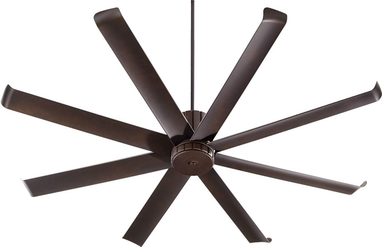 "2018 Quorum Outdoor Ceiling Fans Intended For Quorum International 196728 Proxima Patio 72"" 8 Blade Hanging (View 18 of 20)"