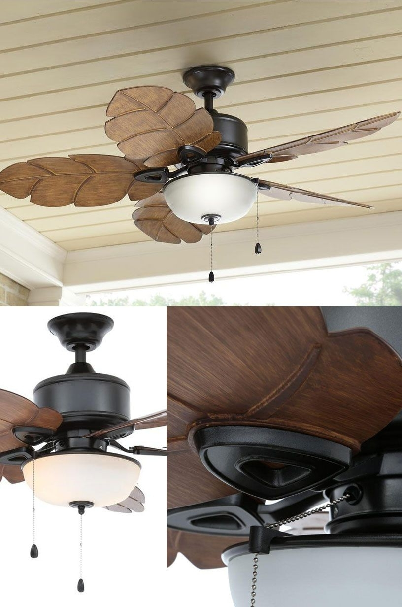 2018 The Perfect Indoor – Outdoor Ceiling Fan And Light. We Bought Two Of Inside Expensive Outdoor Ceiling Fans (Gallery 7 of 20)