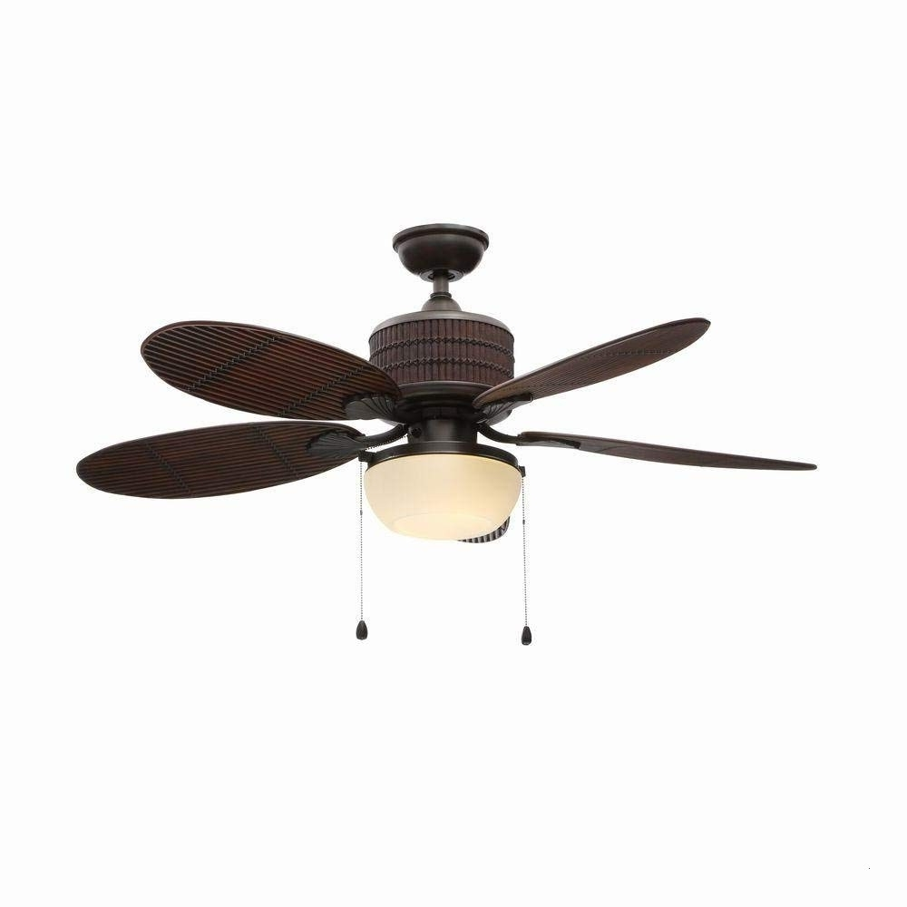 2018 Tropical Outdoor Ceiling Fans With Lights With Tropical Outdoor Ceiling Fans With Lights Elegant Home Decorators (View 14 of 20)