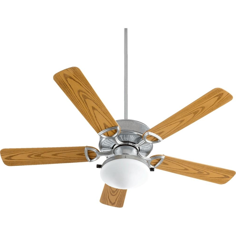 2019 Outdoor Ceiling Fans With Galvanized Blades Within 143525 909 – Quorum International 143525 909 Estate Patio Estate 5 (Gallery 17 of 20)