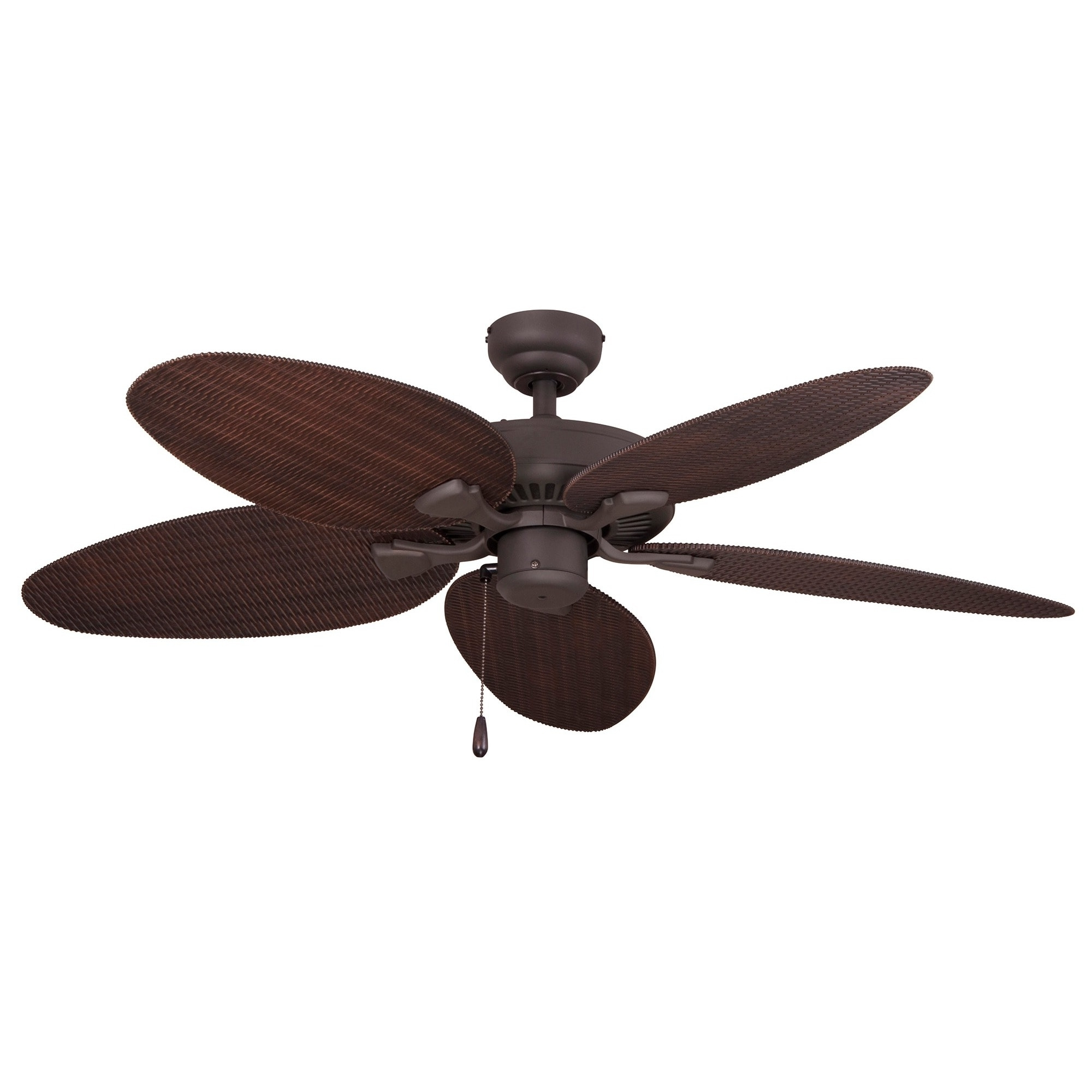2019 Wicker Outdoor Ceiling Fans With Lights Regarding Ecosure Siesta Key 52 Inch Tropical Bronze Outdoor Ceiling Fan With (Gallery 19 of 20)