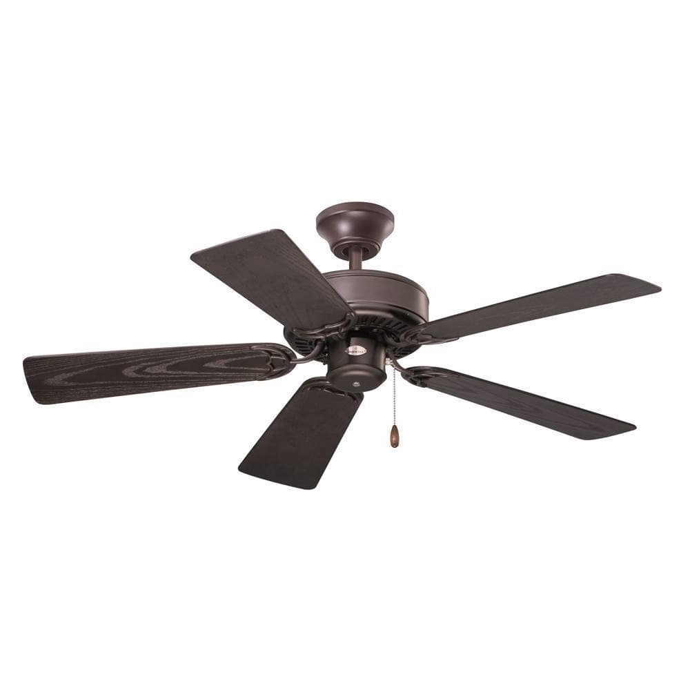 42 Inch Outdoor Ceiling Fans Within Well Liked Shop Emerson Summer Night 42 Inch Oil Rubbed Bronze Traditional (View 8 of 20)