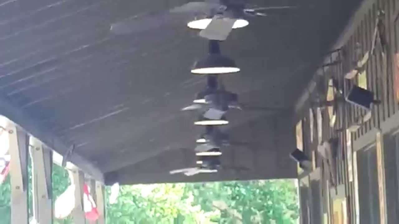 "52"" Craftmade Cxl & Outdoor Patio Ceiling Fans At A Cracker Barrel In Most Recently Released Outdoor Patio Ceiling Fans With Lights (Gallery 20 of 20)"