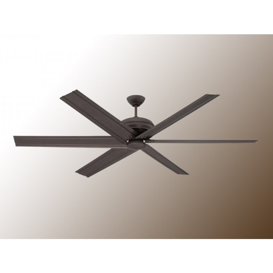 "72"" Colossusellington – Huge Modern Ceiling Fan – 2 Finishes Inside Preferred Ellington Outdoor Ceiling Fans (View 1 of 20)"
