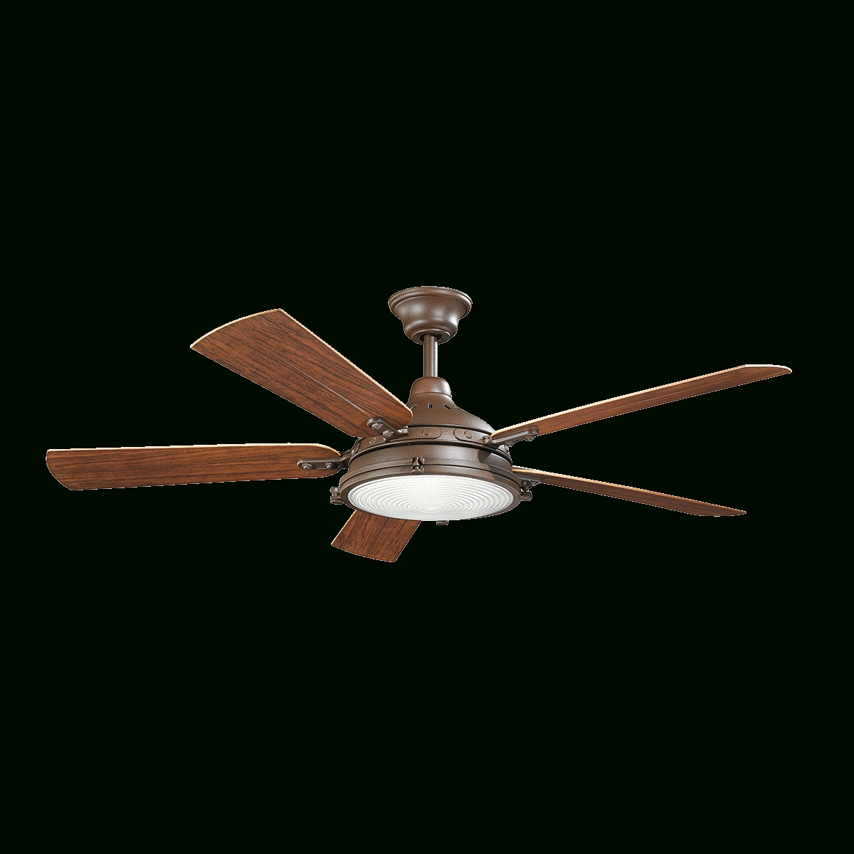 "72 Predator Bronze Outdoor Ceiling Fans With Light Kit With Regard To 2019 Hatteras Bay Patio 60"" Ceiling Fan – Tzp Tzp (View 5 of 20)"