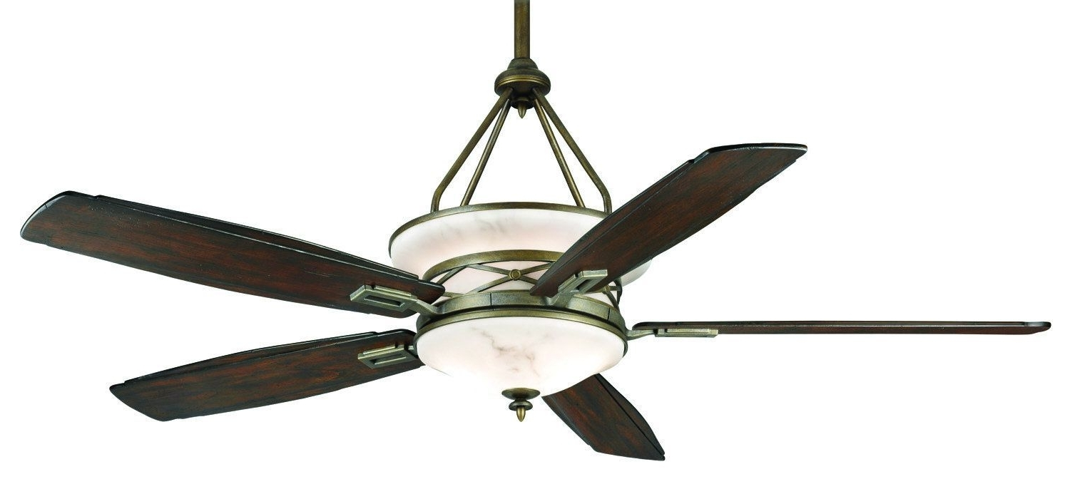 "72 Predator Bronze Outdoor Ceiling Fans With Light Kit With Regard To Most Up To Date Casablanca Atria Atria 68"" 5 Blade Ceiling Fan – Blades Light Kit (Gallery 9 of 20)"