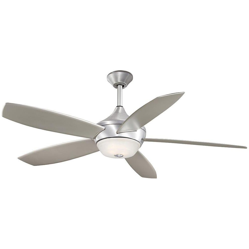 Aire A Minka Group Design Spring Haven 52 In. Indoor/outdoor Brushed In Widely Used Minka Aire Outdoor Ceiling Fans With Lights (Gallery 4 of 20)