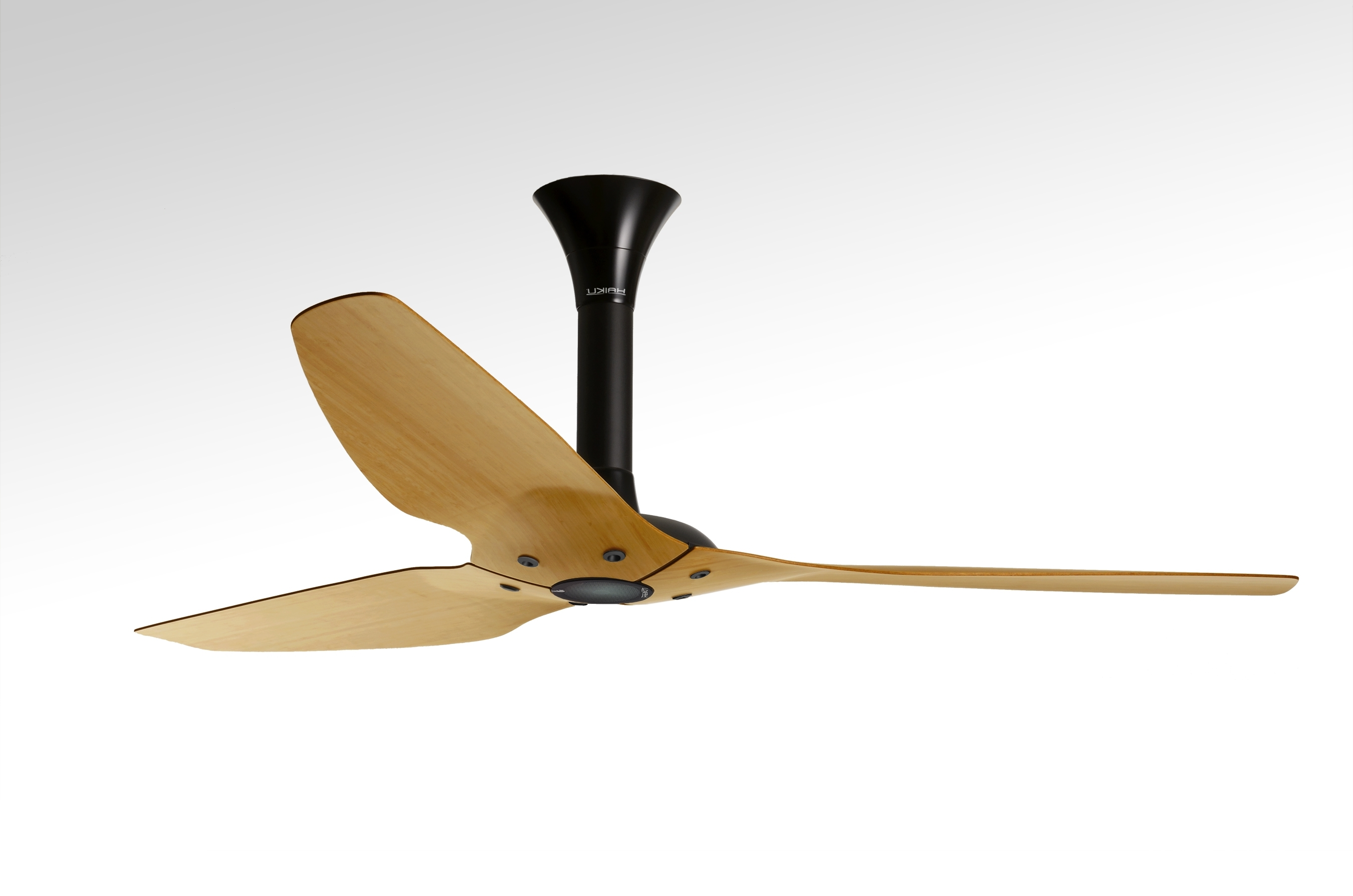 Bamboo Outdoor Ceiling Fans Intended For Recent Bamboo Ceiling Fans With Lights With Regard To House (View 11 of 20)