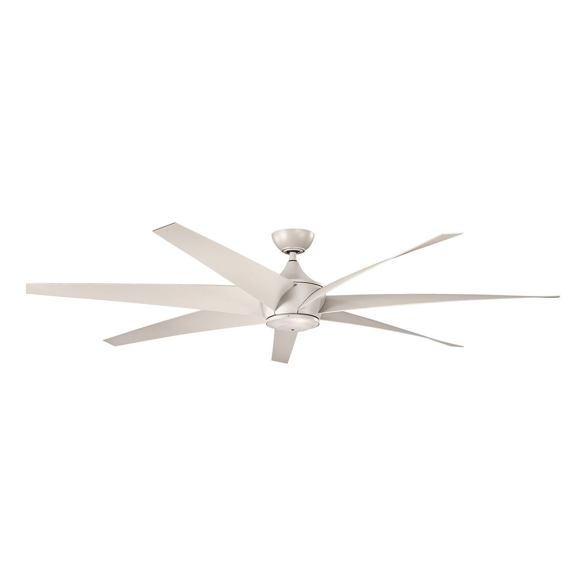 Best And Newest Kichler 310115Ans Lehr 80 Inch Antique Satin Silver Outdoor Ceiling Regarding Outdoor Ceiling Fans At Kichler (View 2 of 20)