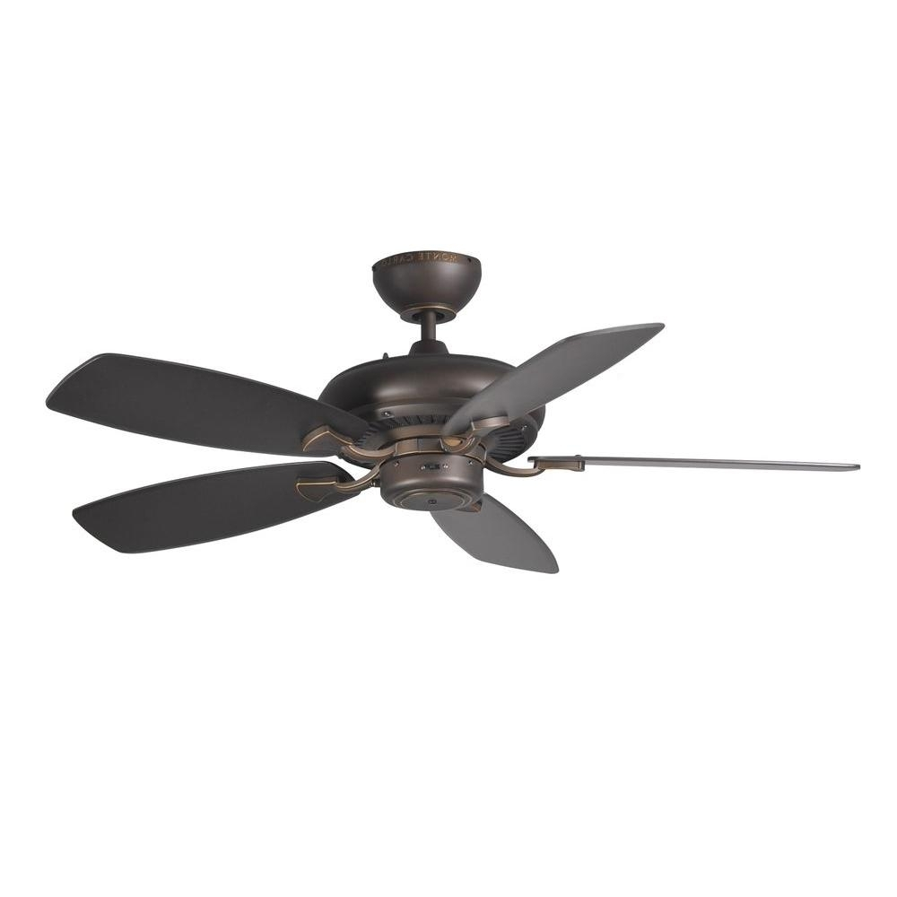 Best And Newest Monte Carlo Designer Max Ii 44 In. Roman Bronze Ceiling Fan 5Dm44Rb Intended For 44 Inch Outdoor Ceiling Fans With Lights (Gallery 1 of 20)