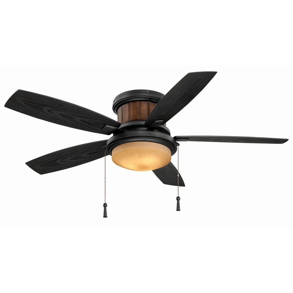 Best And Newest Outdoor Ceiling Fan With Light Under $100 Inside Hampton Bay Roanoke 48 In (View 4 of 20)