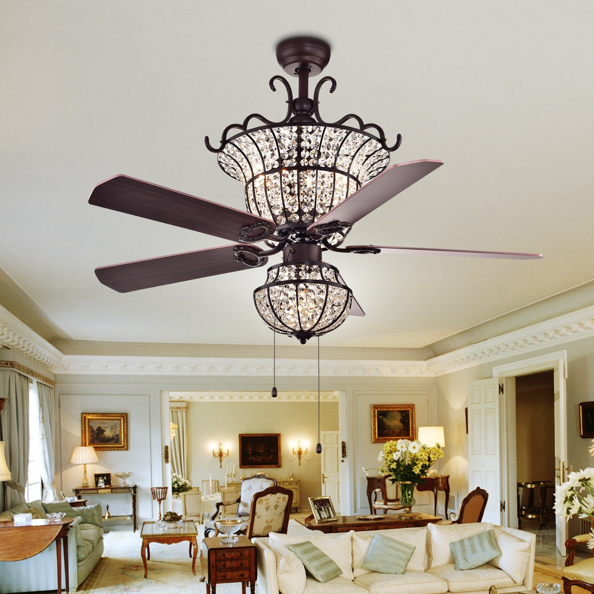 Buy Ceiling Fans Online At Overstock (View 20 of 20)