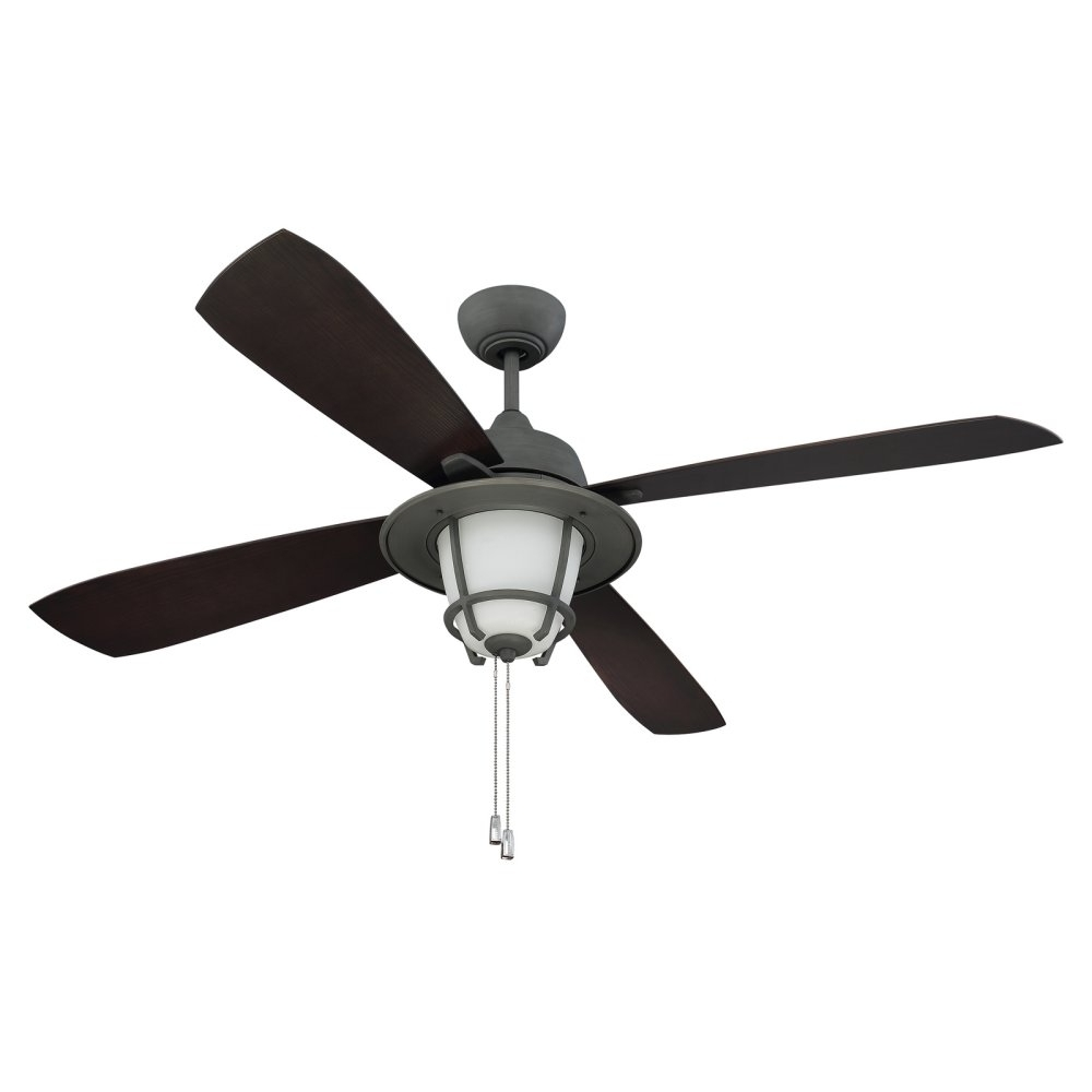 Captivating Outdoor Fan With Light Abs And Metal Material Dark Pertaining To Newest Craftsman Outdoor Ceiling Fans (View 9 of 20)