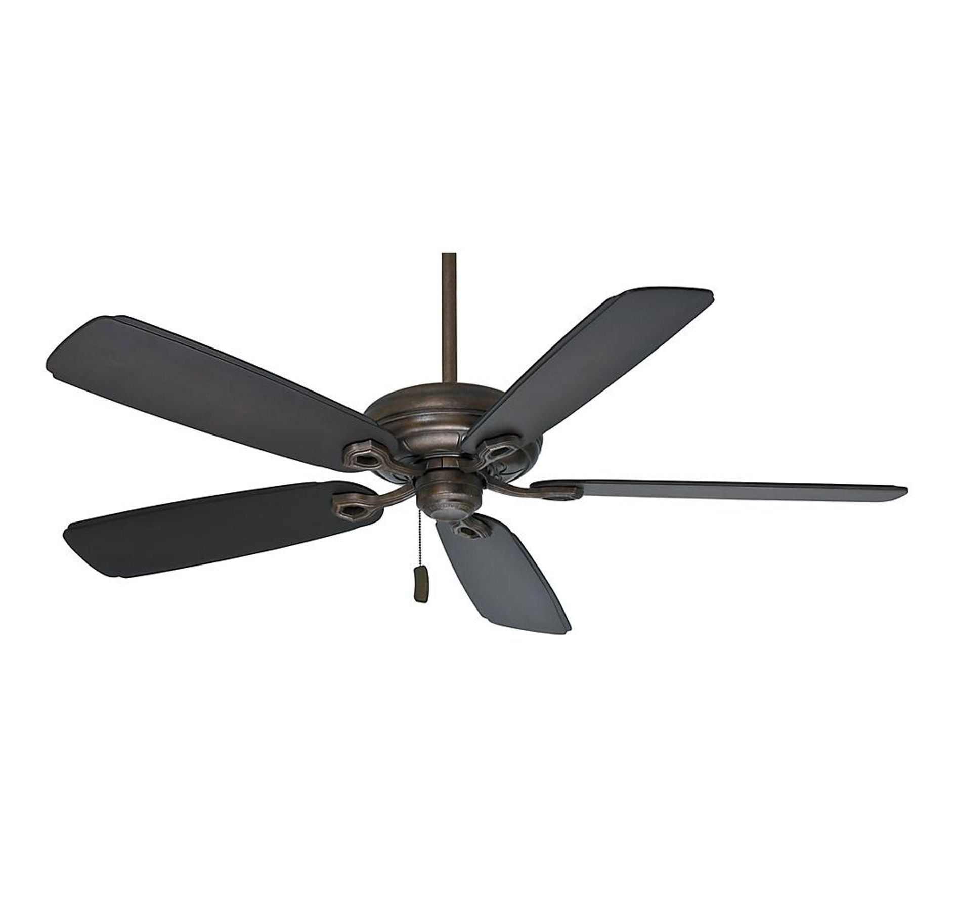 "Casablanca Outdoor Ceiling Fans With Lights In Favorite Casablanca 60"" Charthouse Outdoor Ceiling Fan In Aged Bronze In (Gallery 14 of 20)"