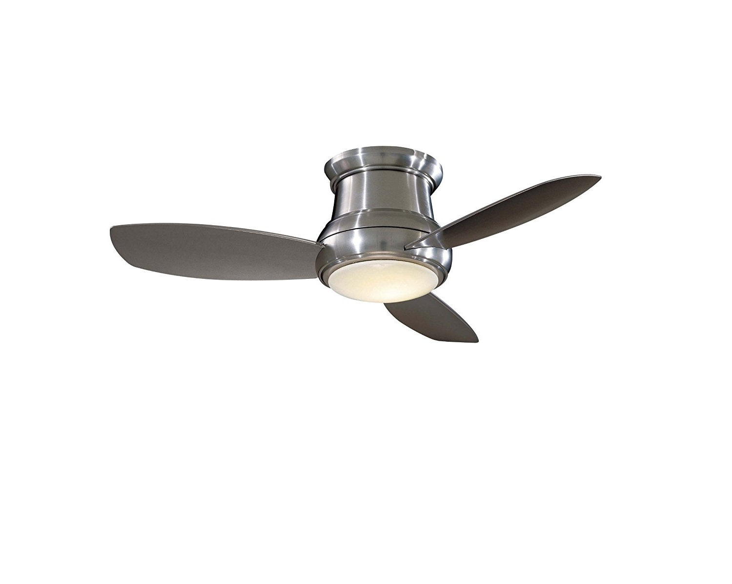 Ceiling Fan: Captivating Flush Mount Ceiling Fan With Light Ideas 32 With Regard To Most Current Outdoor Ceiling Fans For 7 Foot Ceilings (View 5 of 20)