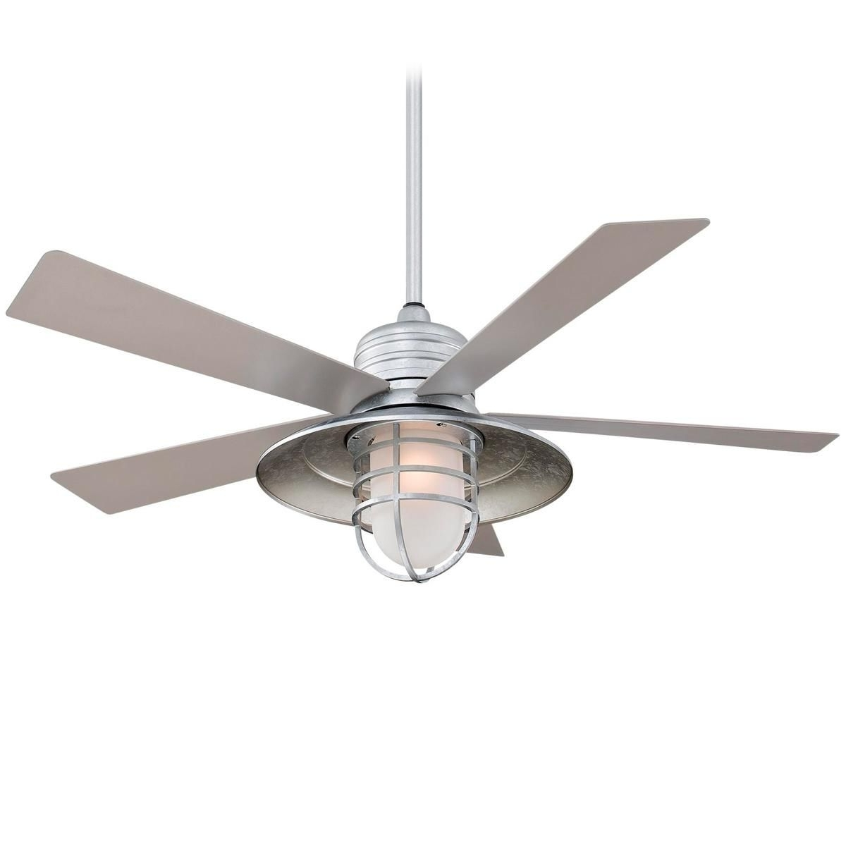Ceiling Fan, Indoor Intended For Most Up To Date Galvanized Outdoor Ceiling Fans With Light (View 2 of 20)