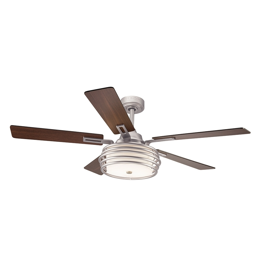 Ceiling Fan: Recomended Kichler Ceiling Fans For Home Kichler Twist Pertaining To Well Liked Kichler Outdoor Ceiling Fans With Lights (View 7 of 20)