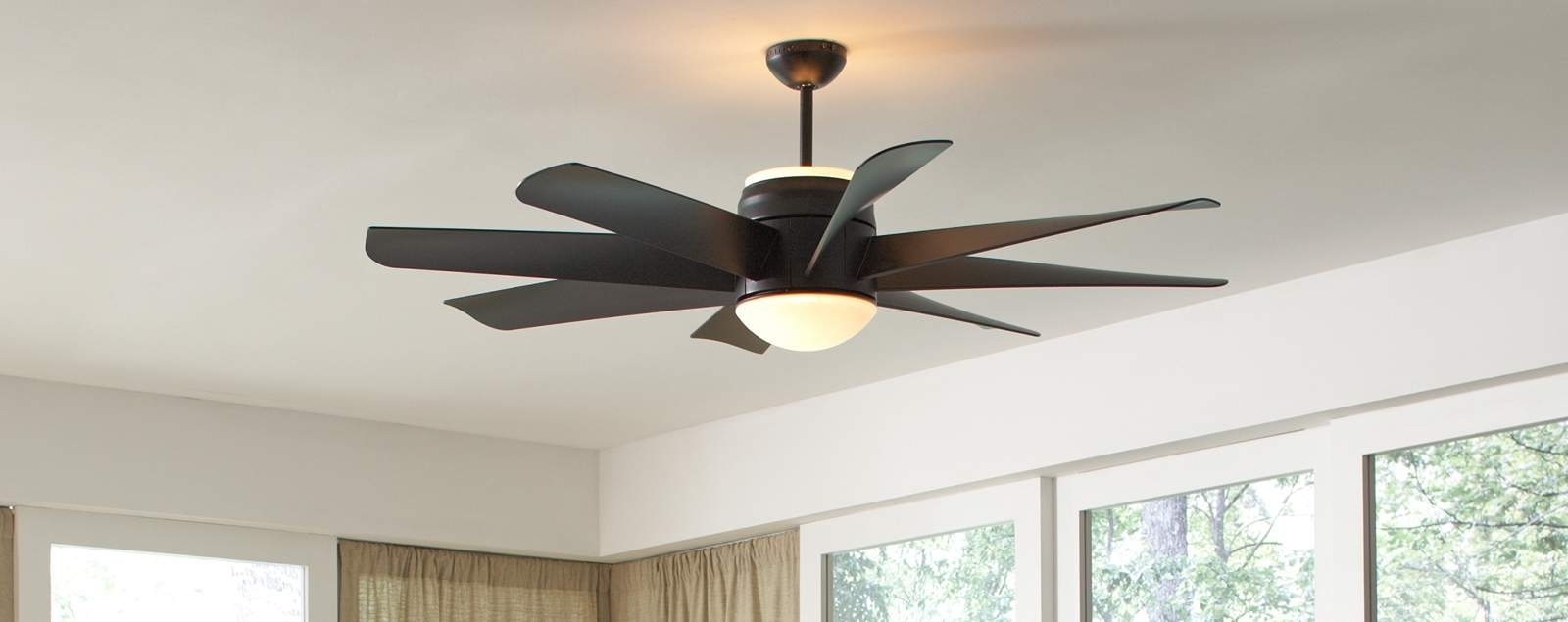 Ceiling Fan With Uplight With Regard To Well Liked Outdoor Ceiling Fans With Uplights (View 5 of 20)