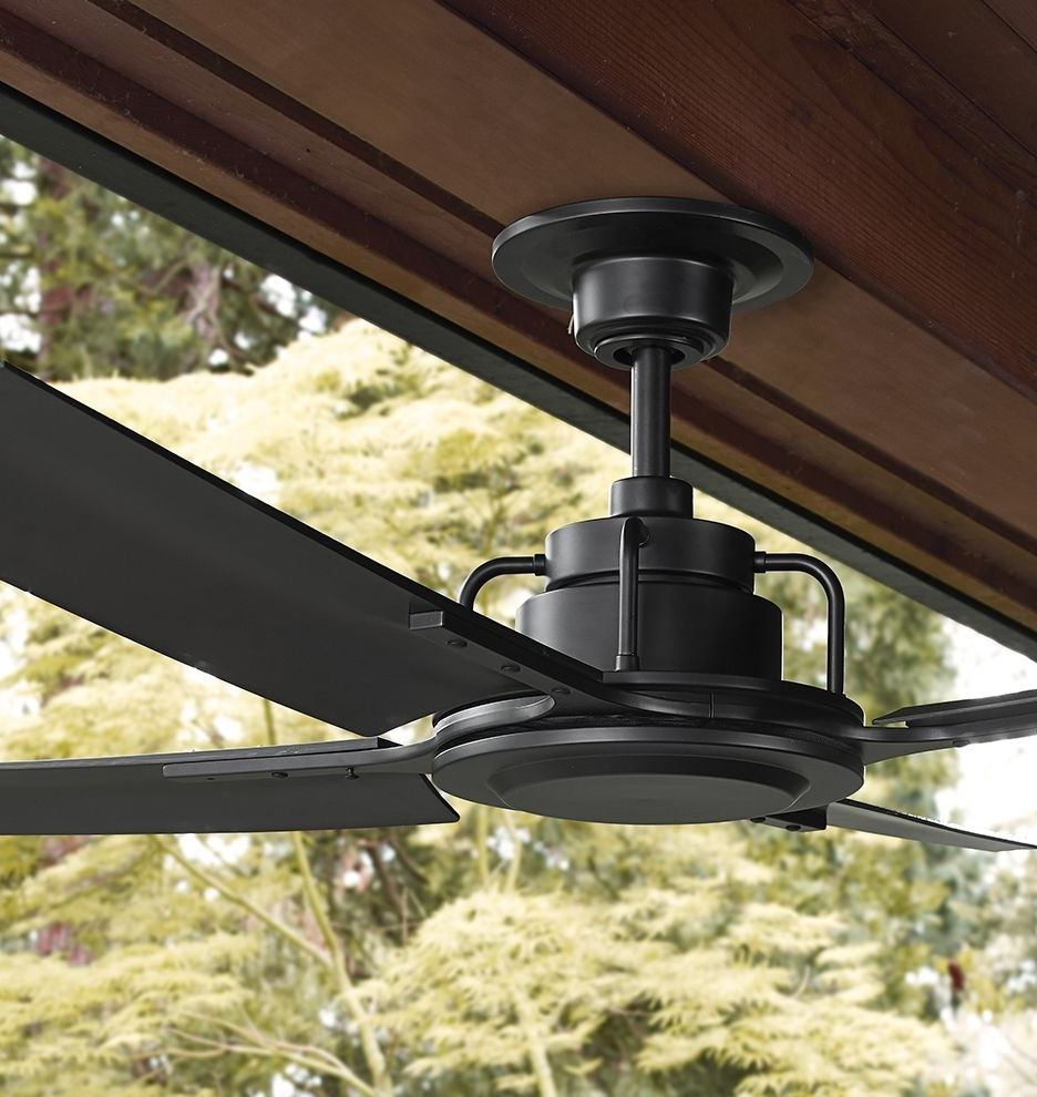 Ceiling Fans, Desk With Regard To Industrial Outdoor Ceiling Fans With Light (View 17 of 20)
