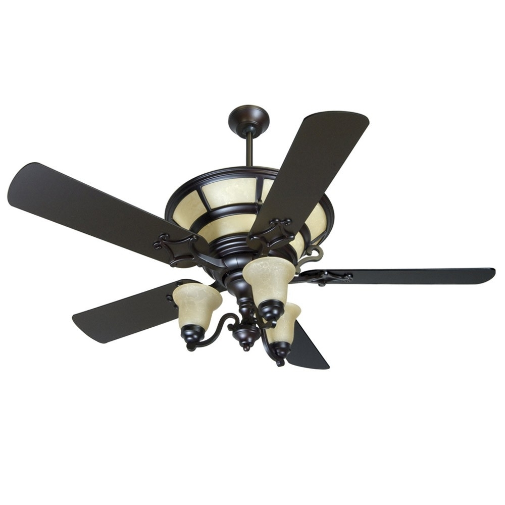 Craftmade Ha52Ob Hathaway Ceiling Fan Oiled Bronze – Includes With Well Known Craftmade Outdoor Ceiling Fans Craftmade (Gallery 9 of 20)