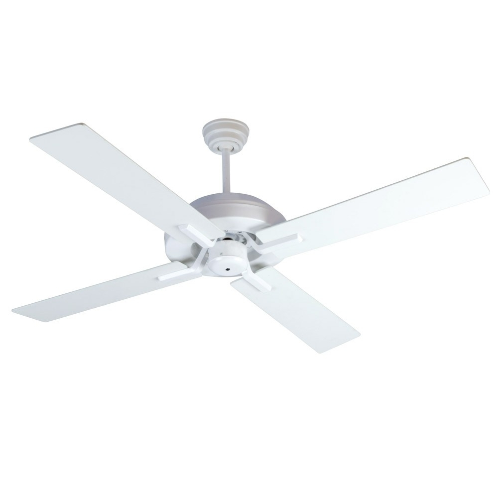 Craftmade Outdoor Ceiling Fans Craftmade Inside Well Known South Beach Ceiling Fancraftmade Fans Sb52W4 – 52 Inch Wet Rated (Gallery 18 of 20)