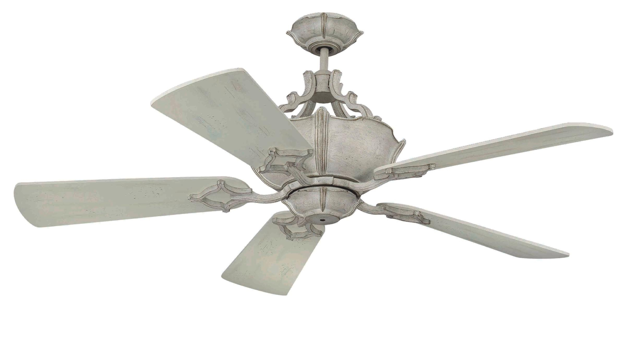 Craftmade Outdoor Ceiling Fans Craftmade Pertaining To Well Known Craftmade Wellington Xl Ceiling Fan Model Cf Wxl52Fw In French White (View 9 of 20)