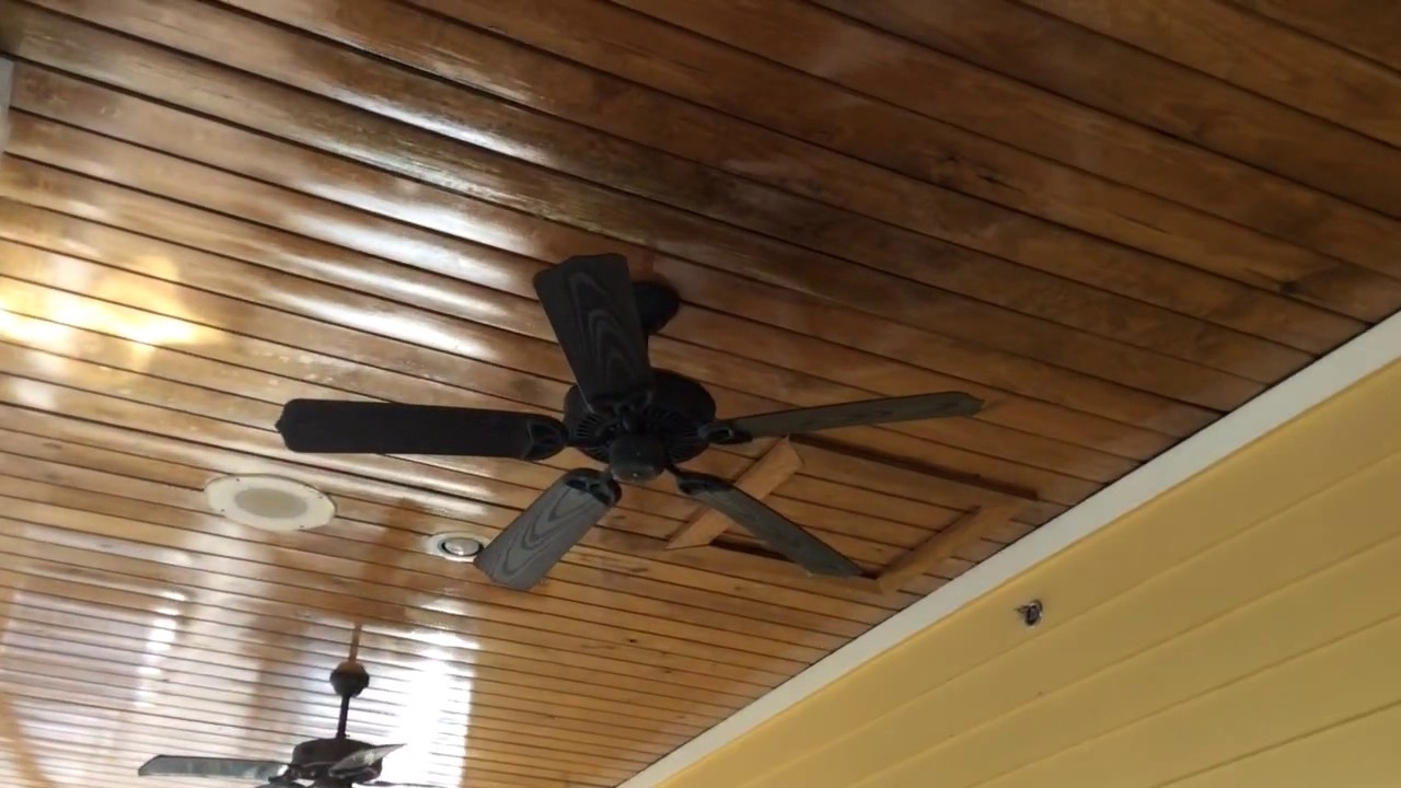 Craftmade Outdoor Patio Ceiling Fans – Youtube For Newest Outdoor Ceiling Fans For Patios (Gallery 19 of 20)