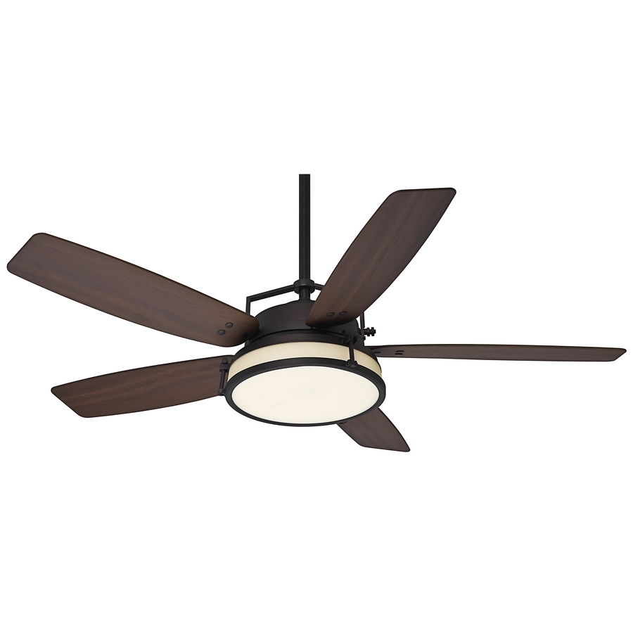 Craftsman Outdoor Ceiling Fans For Most Recently Released Shop Casablanca Caneel Bay 56 In Maiden Bronze Indoor/outdoor (View 2 of 20)