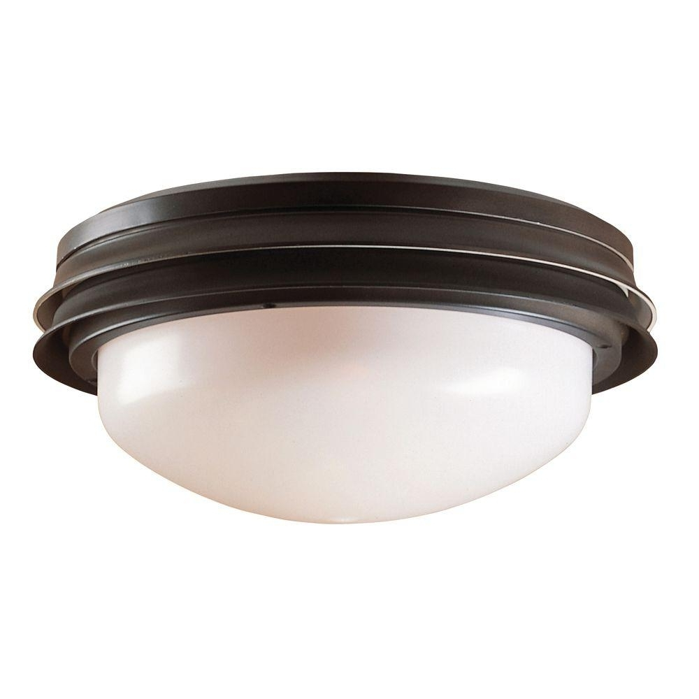 Current Hunter Outdoor Ceiling Fans With Lights Throughout Hunter Marine Ii Outdoor Ceiling Fan Light Kit 28547 – The Home Depot (View 20 of 20)