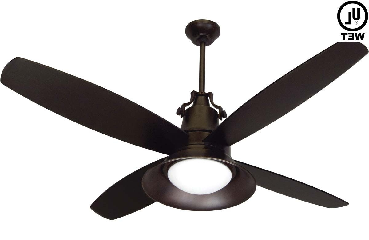 Damp Rated Outdoor Ceiling Fans Regarding Current A Damp Or Wet Outdoor Ceiling Fan Fits Almost Anywhere, Exterior (View 14 of 20)