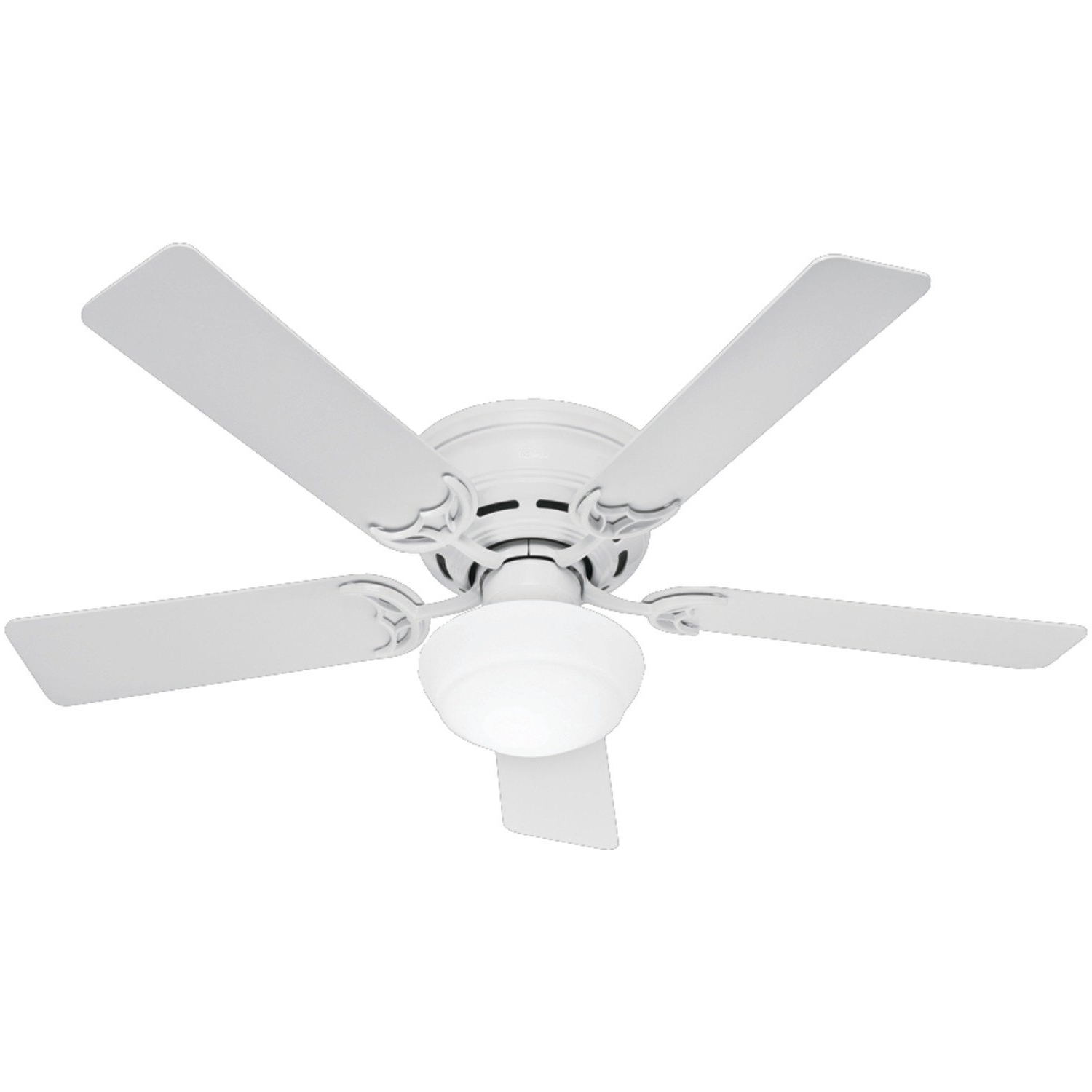 Decor On The Line Regarding Popular Hunter Outdoor Ceiling Fans With White Lights (View 14 of 20)