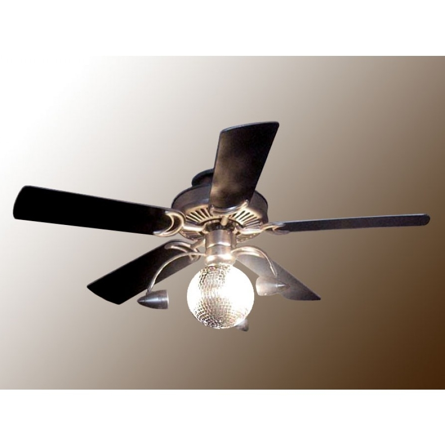 Disco Ball Ceiling Fan – Funkytown In 2019 Outdoor Ceiling Fans Under $ (View 3 of 20)