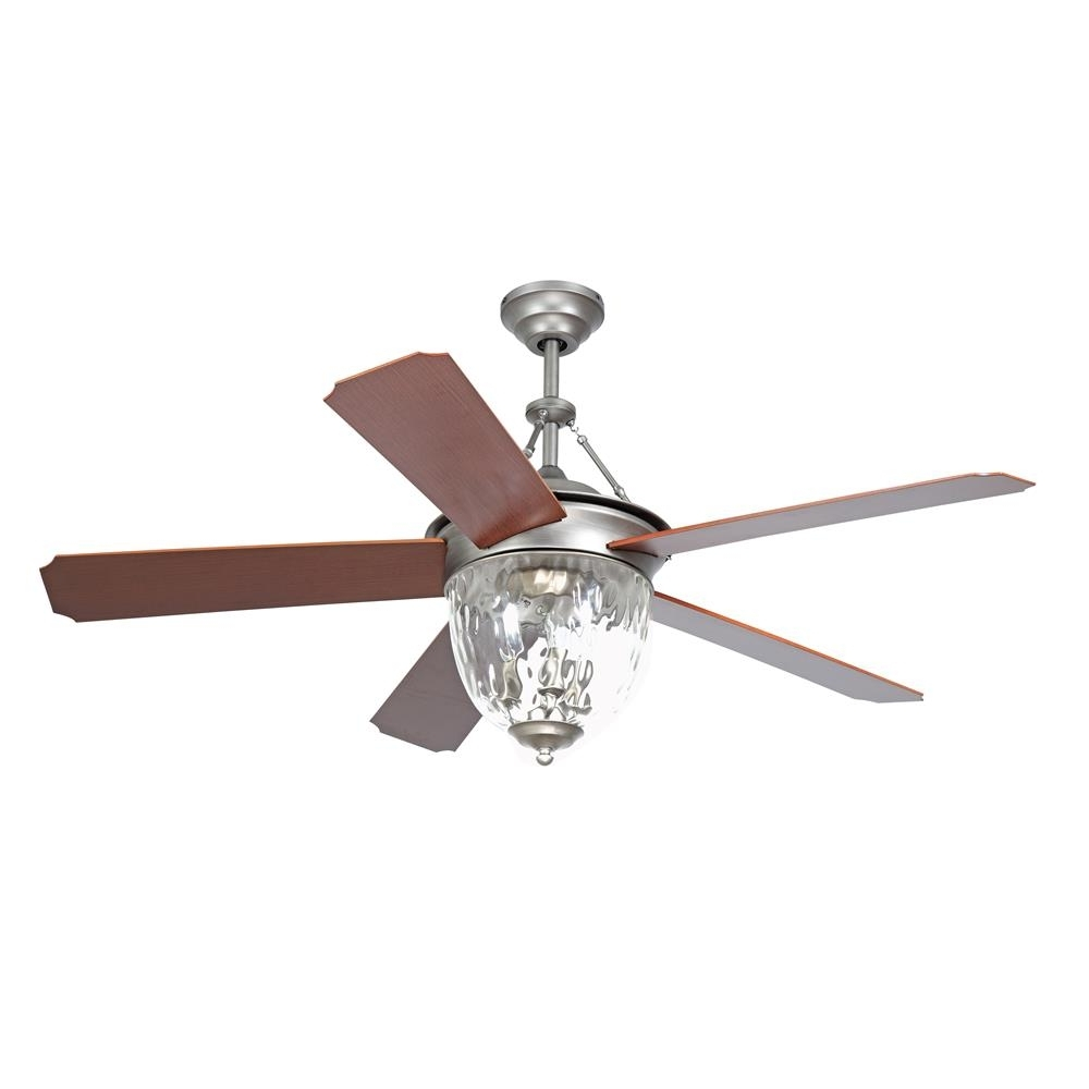 "Ellington Outdoor Ceiling Fans Inside Current  Cav52Pt5Lk – Craftmade Cav52Pt5Lk Cavalier 52"" Ceiling Fan In (View 5 of 20)"