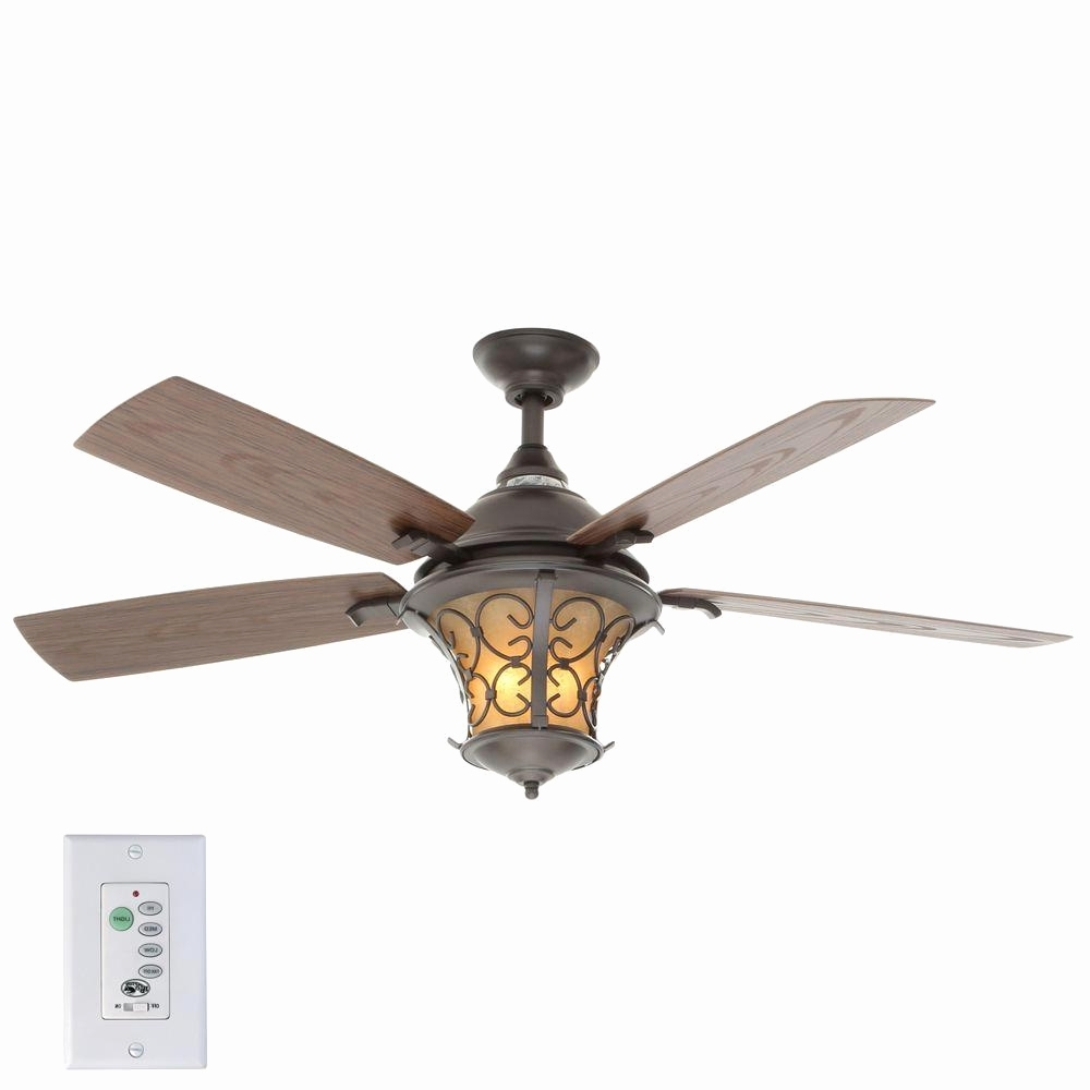 Emerson Outdoor Ceiling Fans With Lights With Regard To Most Current Emerson Fan Light Kit Hampton Bay Veranda Ii 52 In Indoor Outdoor (Gallery 11 of 20)