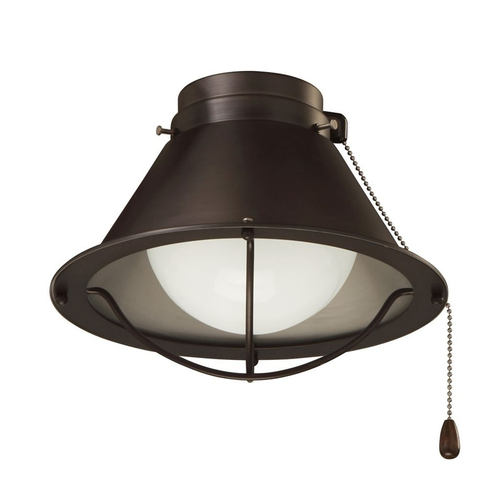 Emerson Outdoor Ceiling Fans With Lights Within Trendy Indoor/outdoor Seaside Ceiling Fan Light – Bronze (Gallery 8 of 20)