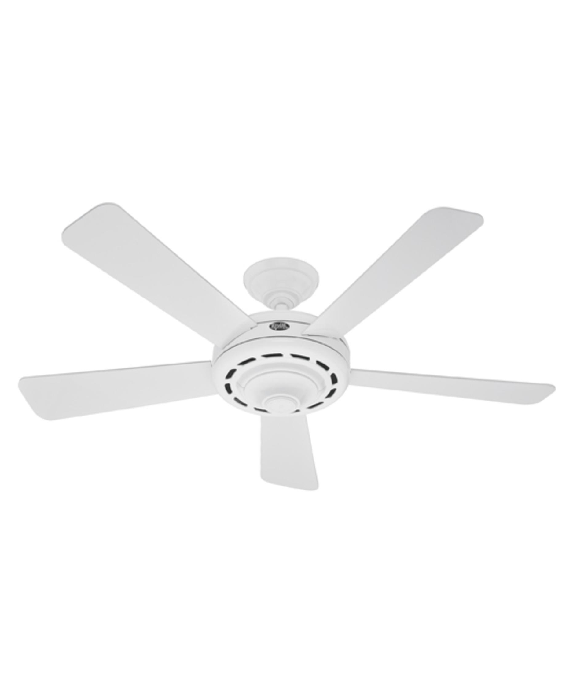 Energy Star Outdoor Ceiling Fans With Light Regarding Popular Hunter Fan 25866 Dimensions 52 Inch 5 Blade Ceiling Fan (View 7 of 20)
