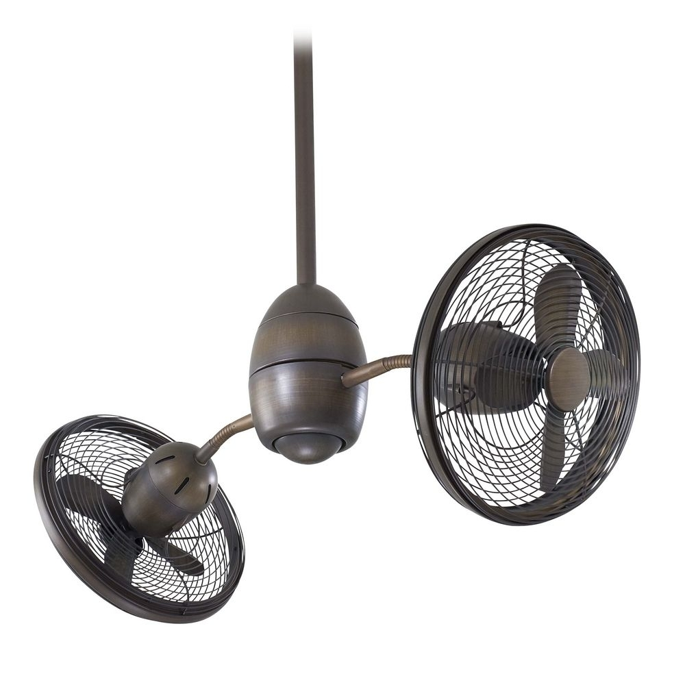 Famous 36 Inch Outdoor Ceiling Fans With Lights Regarding 36 Inch Modern Ceiling Fan Without Light In Bronze Finish (View 13 of 20)