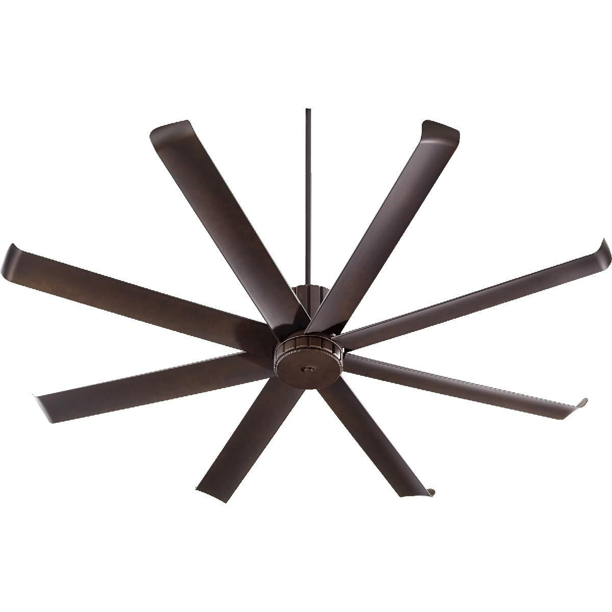 "Famous 72"" Angled Spoke Indoor/outdoor Ceiling Fan (View 4 of 20)"