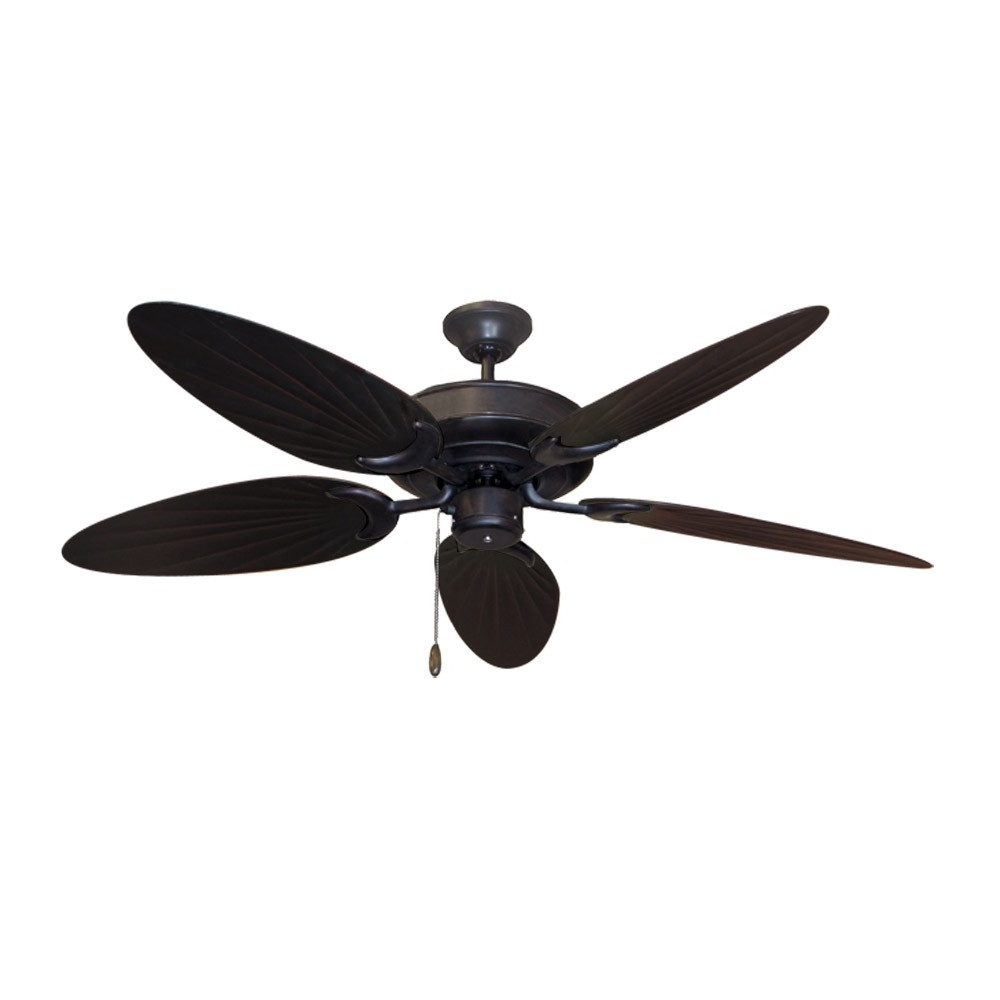 Famous Bamboo Ceiling Fan – Oil Rubbed Bronze – Customize With 12 Blade With Regard To Bamboo Outdoor Ceiling Fans (View 12 of 20)
