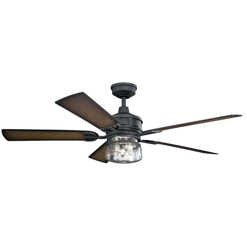 Famous Black Ceiling Fans With Light Remote Fan Kit – Hesstonspeedway Pertaining To Outdoor Ceiling Fans At Bunnings (View 8 of 20)