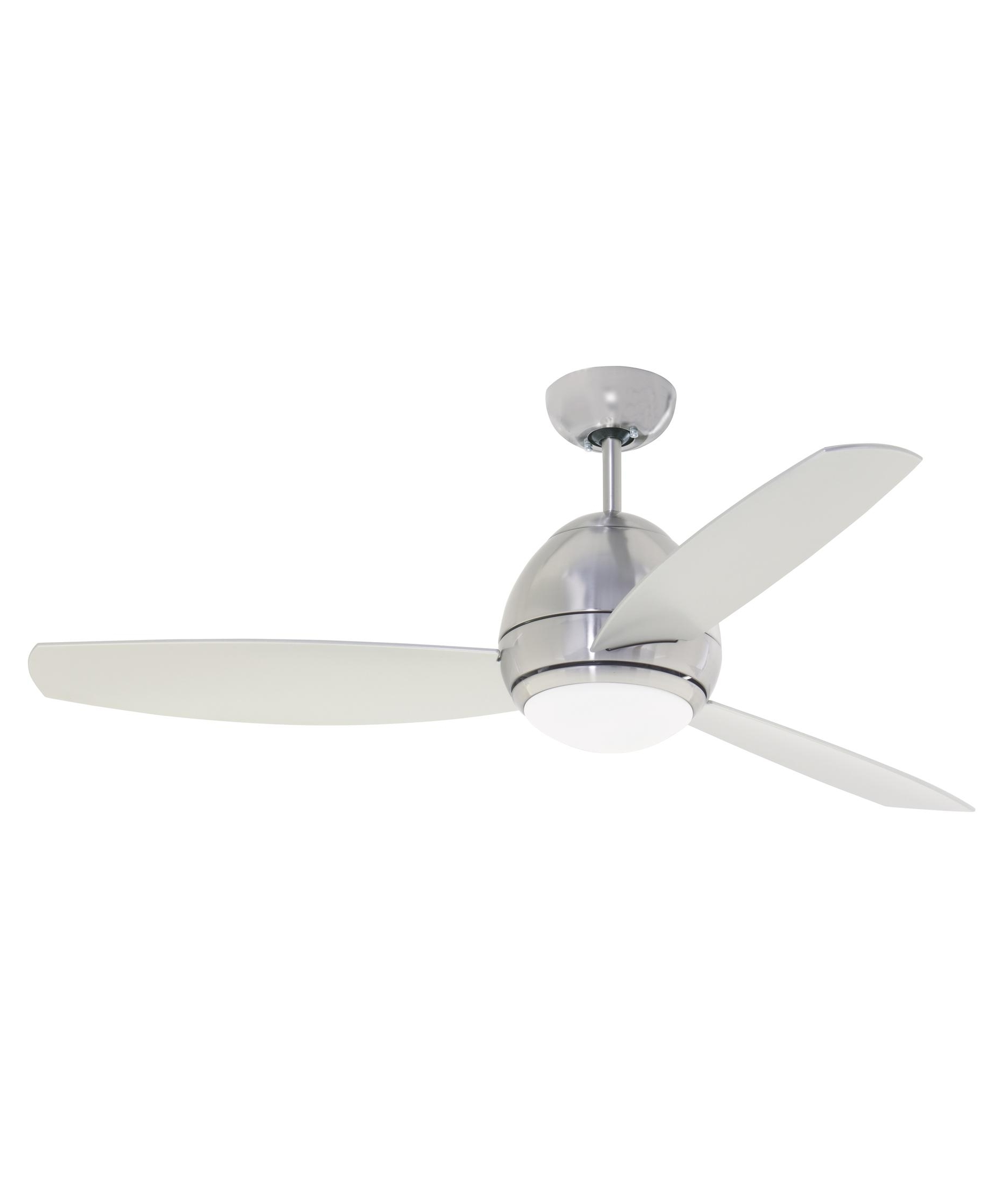 Famous Emerson Outdoor Ceiling Fans With Lights Pertaining To Emerson Cf252 Curva 52 Inch 3 Blade Ceiling Fan (View 10 of 20)