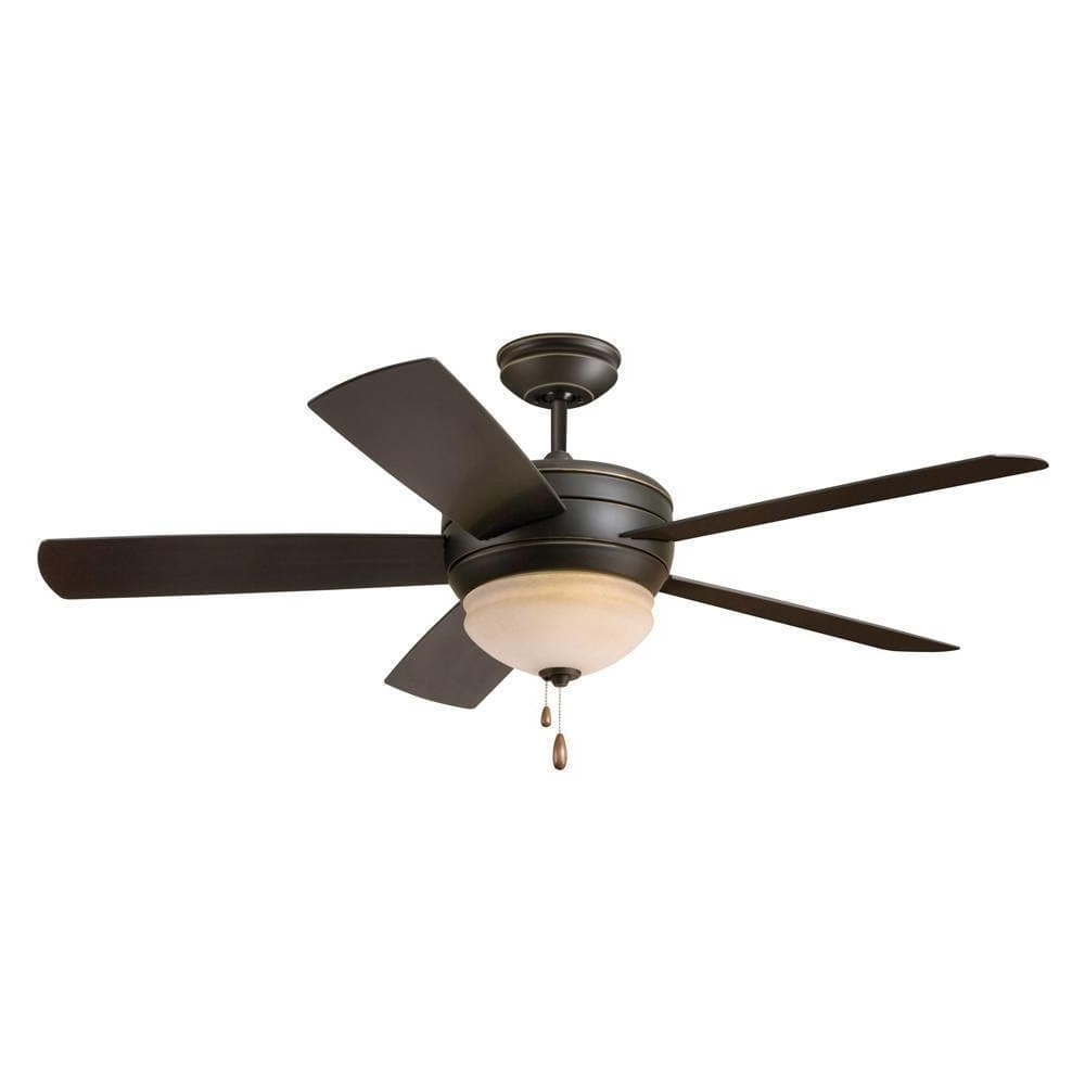 Famous Emerson Summerhaven 52 Inch Golden Espresso Modern Indoor/outdoor Throughout Modern Outdoor Ceiling Fans (View 8 of 20)