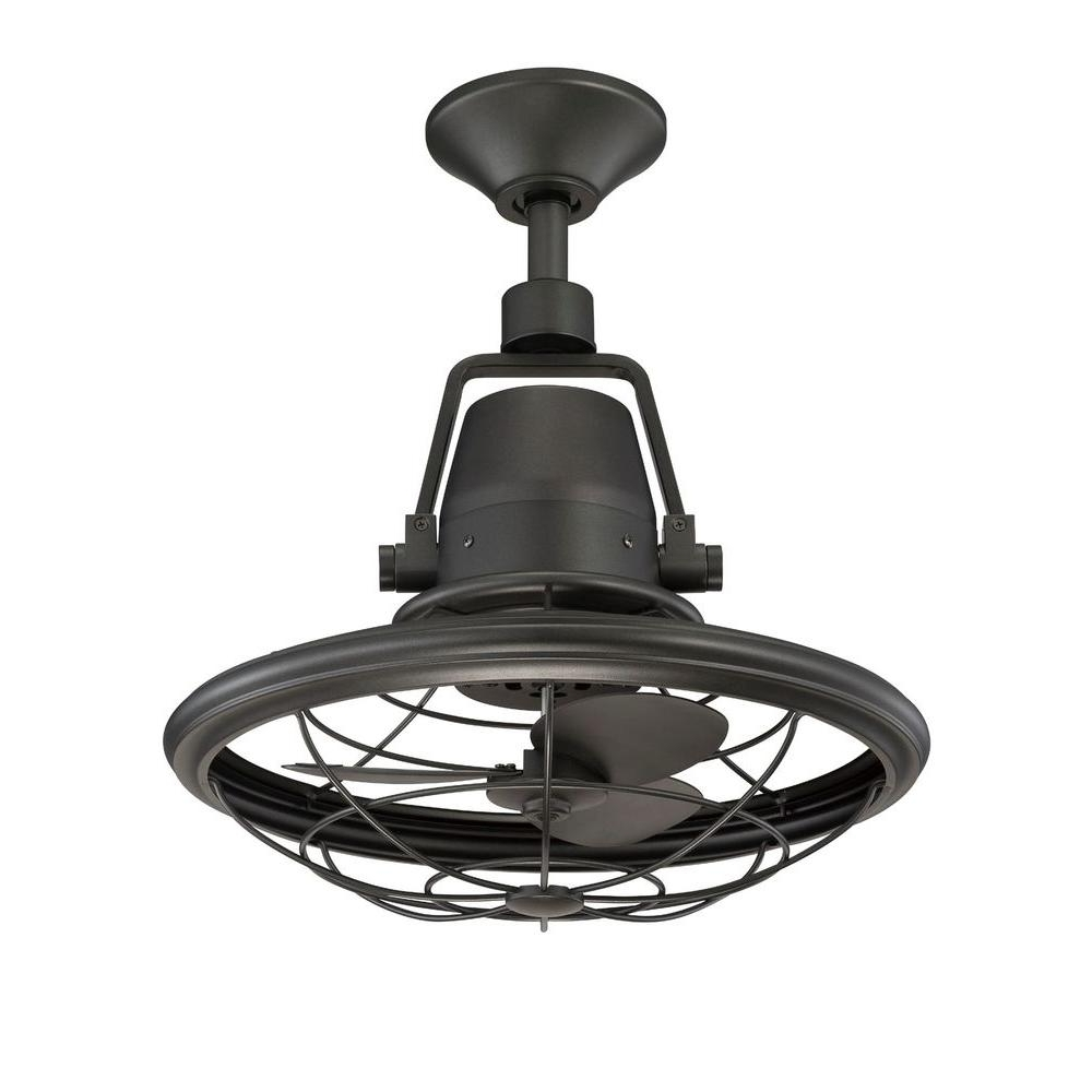 Famous Outdoor Ceiling Fans For Canopy For Modern Patio Ideas With Neutral Natural Iron Finish, And 3 Speed (View 4 of 20)