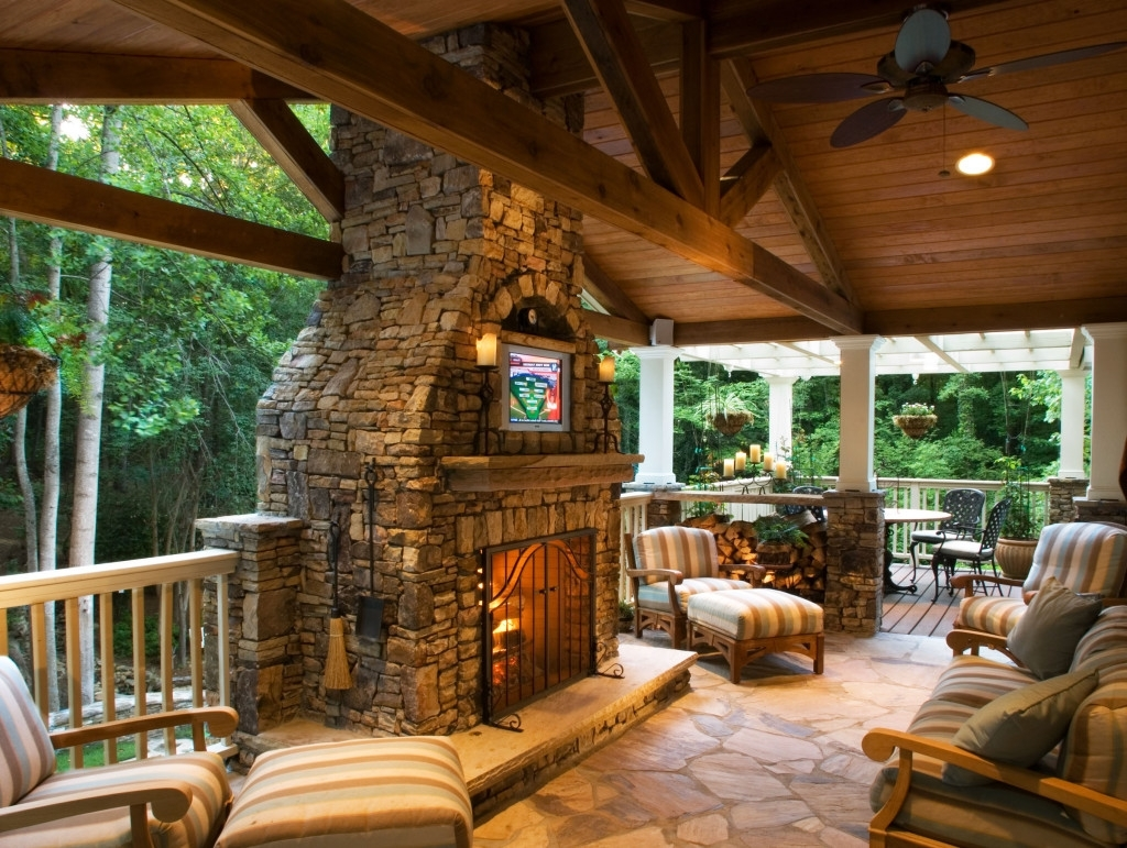 Famous Outdoor Ceiling Fans For Decks Inside Outdoor Fans For Decks – Photos House Interior And Fan (View 5 of 20)