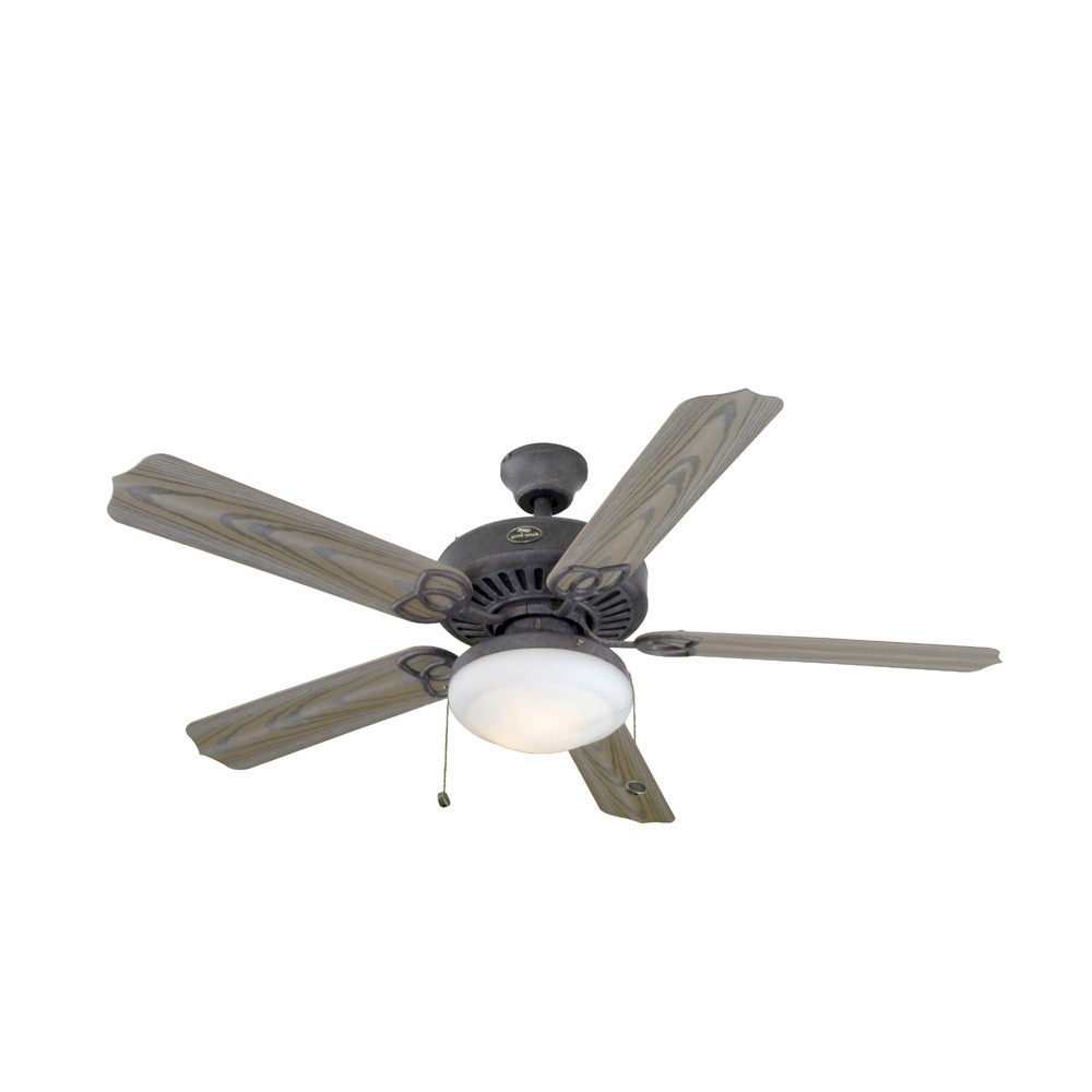 "Famous Shop Harbor Breeze® 52"" Tebron Garden Outdoor Ceiling Fan At Lowes For Harbor Breeze Outdoor Ceiling Fans With Lights (View 6 of 20)"